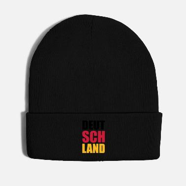Schland Germany Soccer World Champion Fan T-Shirt - Winter Hat
