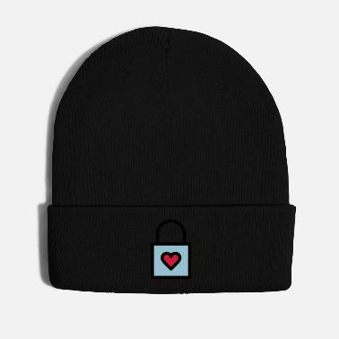 Day Padlock, love lock - Winter Hat