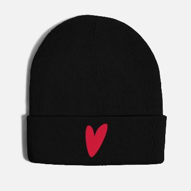 Red Heart Heart red - Winter Hat