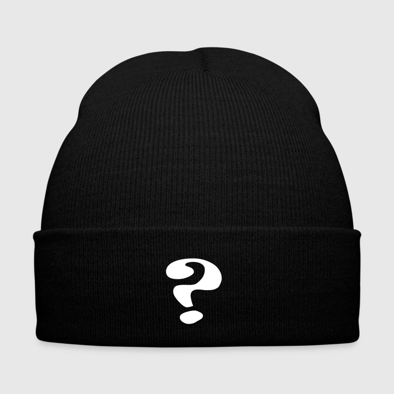 questionmark / Fragezeichen / point d'interrogation / ? - Winter Hat
