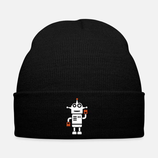 Mechanical Caps & Hats - Robot gift - Winter Hat black