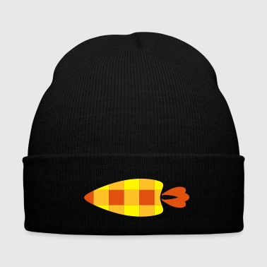 A checkered carrot - Winter Hat