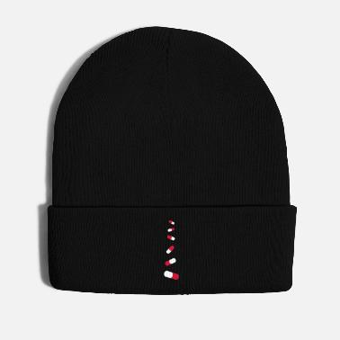 Capsule pills_falling_down - Winter Hat