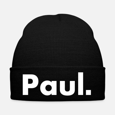 Nome Paul - nome - carattere - Cappellino invernale