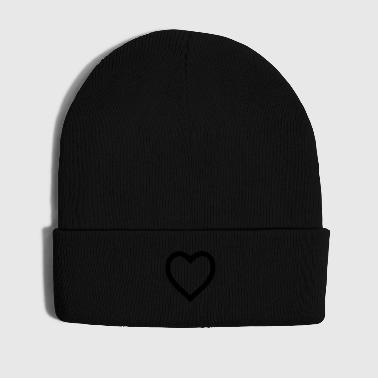 Heart outline - Cappellino invernale