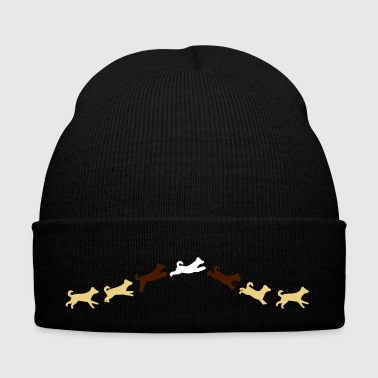 dog jumps - Winter Hat