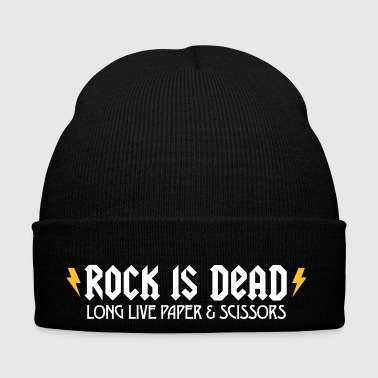 Rock Is Dead! Long Live Paper And Scissors. - Winter Hat