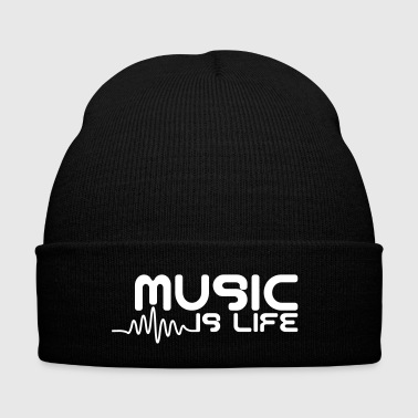 Music is life with pulse - Winter Hat