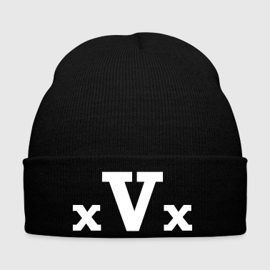 xVx - Straight Edge Vegan - Wintermütze