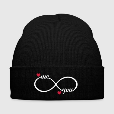 Love forever best friends couples mum dad wife  - Winter Hat