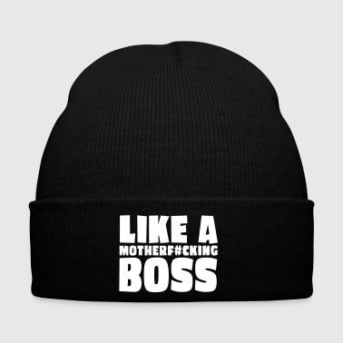 like a motherfcking boss 1c / like a boss - Winter Hat