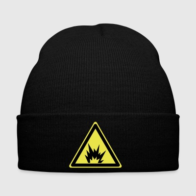 Attention explosive - Bonnet d'hiver