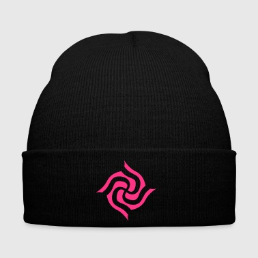 Psychedelic Surreal Swastika Design - Winter Hat
