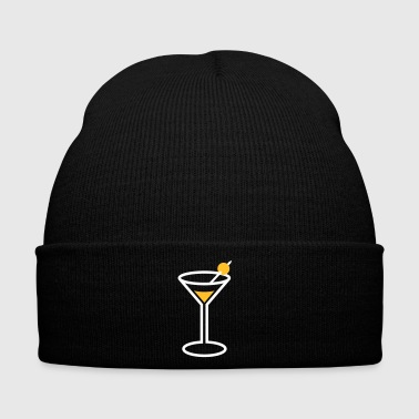 Martini Cocktail Glass - Winter Hat