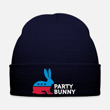Mascot Political Party Animals: Bunny - Winter Hat