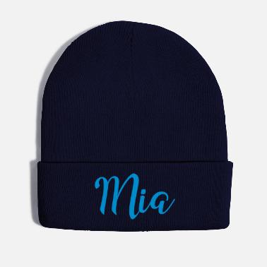 First Name mia first name - Winter Hat