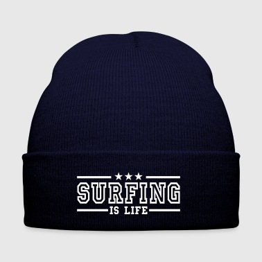 surfing is life deluxe - Bonnet d'hiver
