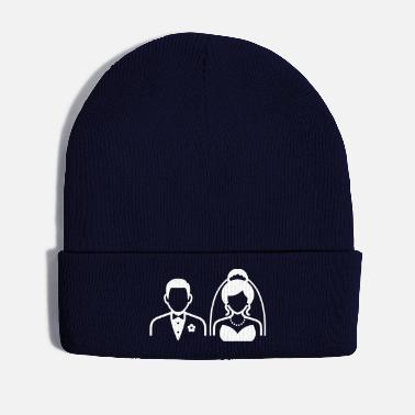 Wedding Day Couple / Wedding Couple - Winter Hat