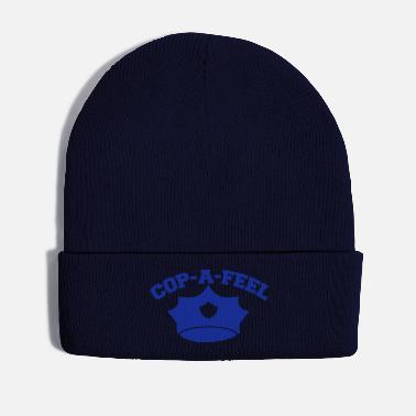 Cop Funny police design Cop-a-feel officer cops - Winter Hat