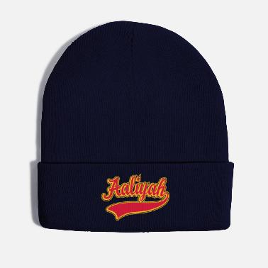 Name Aaliyah - Name as a sport swash - Winter Hat