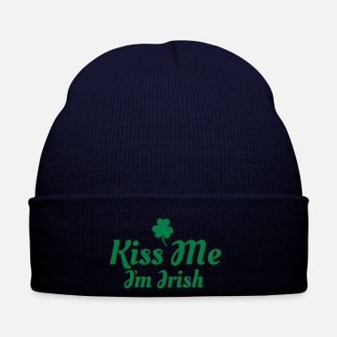 Kiss kiss me i'm irish excellent - Bonnet d'hiver