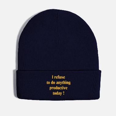 Product Not productive today - Winter Hat