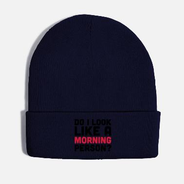Person A Morning Person - Winter Hat