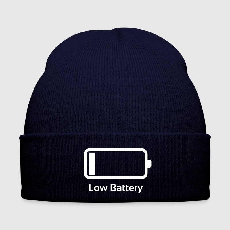 Low battery / Lustig & Cool / Ladebalken  - Winter Hat