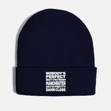 Manchester NOBODY'S PERFECT except MANCHESTER - Winter Hat