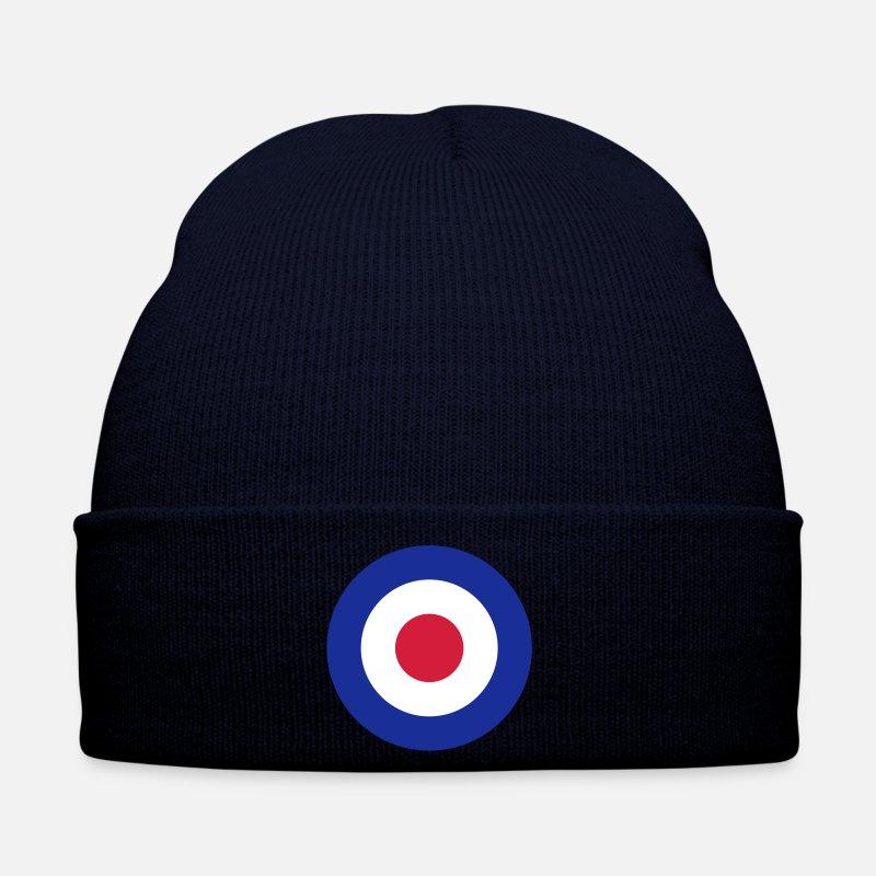 Mods Caps   Hats - Mod Target United Kingdom Großbritannien Rollerfahrer  Scooter Run Beatmusik - Winter 7fcab69d09a2
