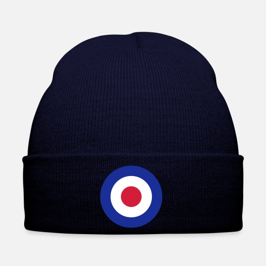 Uk Caps & Hats - Mod Target United Kingdom Großbritannien - Winter Hat navy
