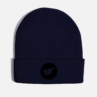 Paper paper airplane - Winter Hat