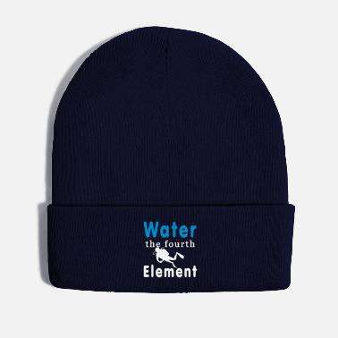 Element Water the fourth Element - Wintermütze
