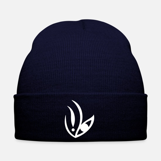 Start Caps & Hats - Germination-Eye 3 (monochrome) - Winter Hat navy