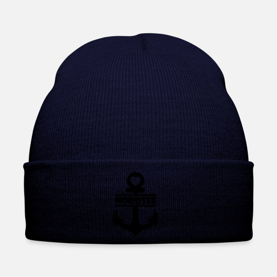 Rügen Caps & Hats - Anchor North Sea - Winter Hat navy