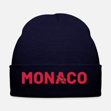 Shield T-Shirt Monaco Bobsleigh Marine - Simple Shield  - Bonnet d'hiver