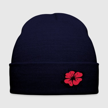 A poppy as a graffiti - Winter Hat