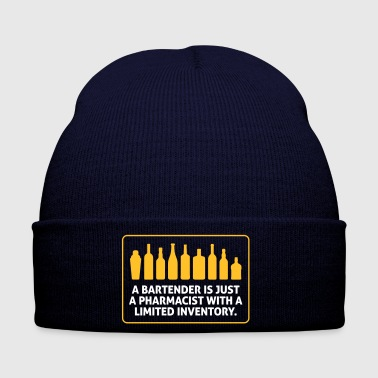 Bartenders Are Pharmacists With A Limited Inventor - Winter Hat