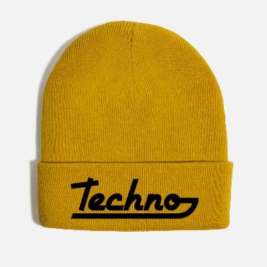 Text Techno Text - Winter Hat