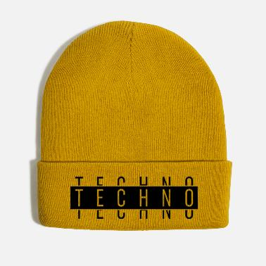Techno TECHNO TECHNO TECHNO - Winter Hat
