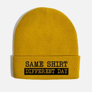 Different Same Shirt Different Day - Winter Hat