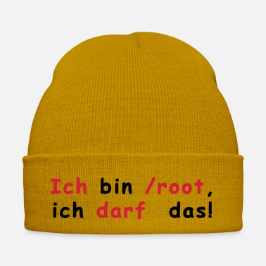 Root Linux - Winter Hat