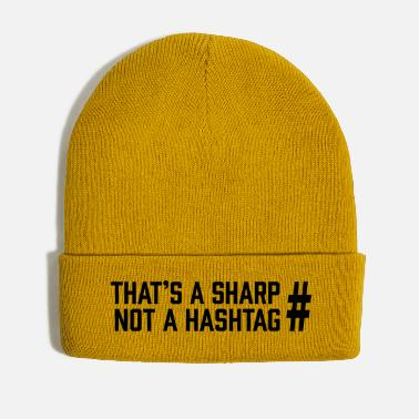Sharp Sharp vs Hashtag - Winter Hat
