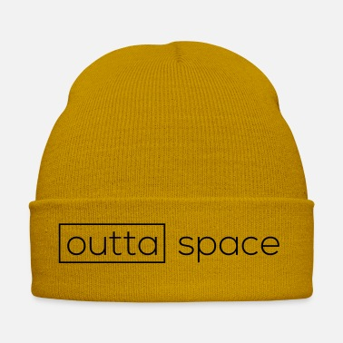 Space Shuttle Outta Space - Outer Space - Winter Hat