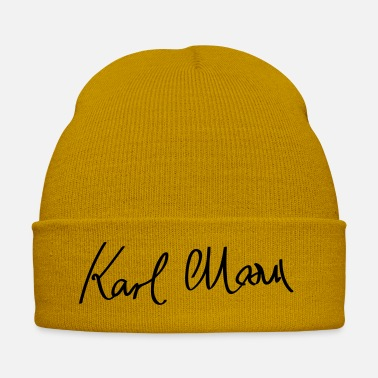 Class Struggle Signature of Karl Marx - Winter Hat