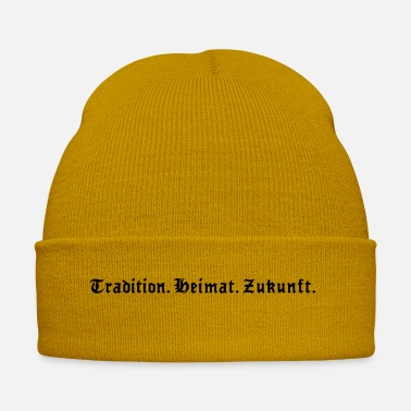 Tradition Tradition future home - one color vector - Winter Hat