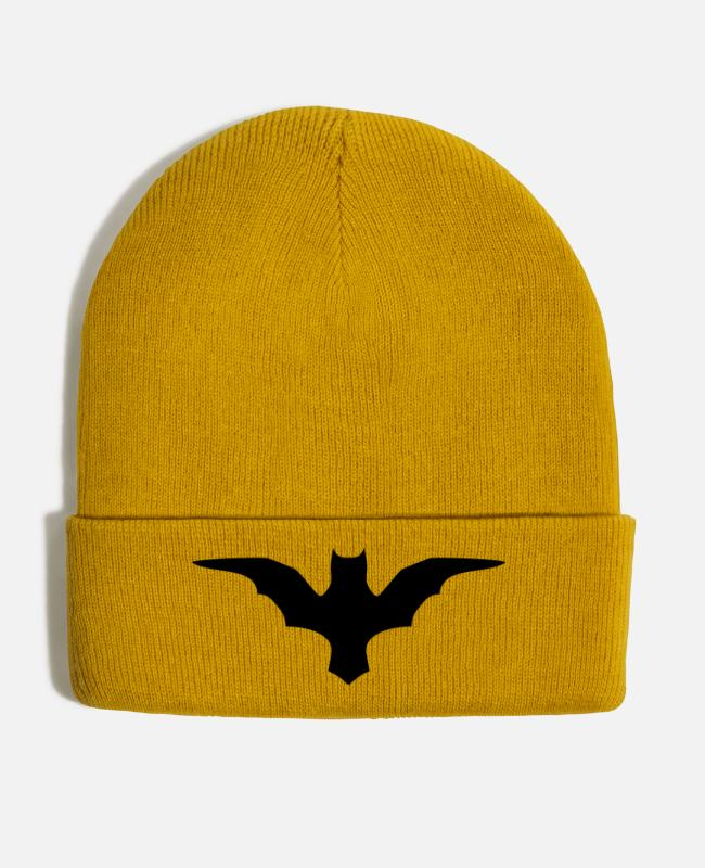 Bats Caps & Hats - Bat - Winter Hat mustard yellow