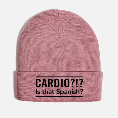 Spanish Cardio? Is that Spanish - Winter Hat