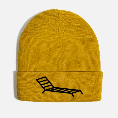 Recreational Deck chair holiday recreation - Winter Hat