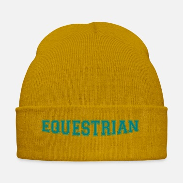 Writing Equestrian Writing - Winter Hat